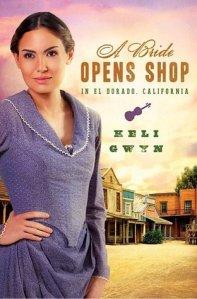 a bride opens shop